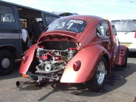Dude S Beetle Was A Mostly Home Built Vw Engined Drag Car Which I Raced In The Volkswagen Racing Club Vwdrc Pro Cl Originally My